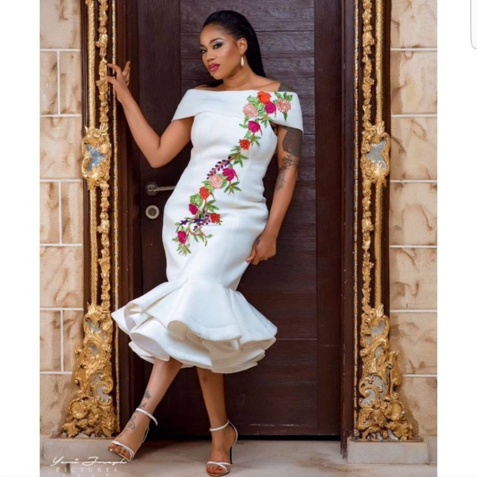 Nigeria style bridesmaid dresses one shoulder sleeveless mermaid its weddingsaturday tag zegiststyle in your photos to get featured officialsarahofili looking hot in this jbliving piece by zegist ombrellifo Images