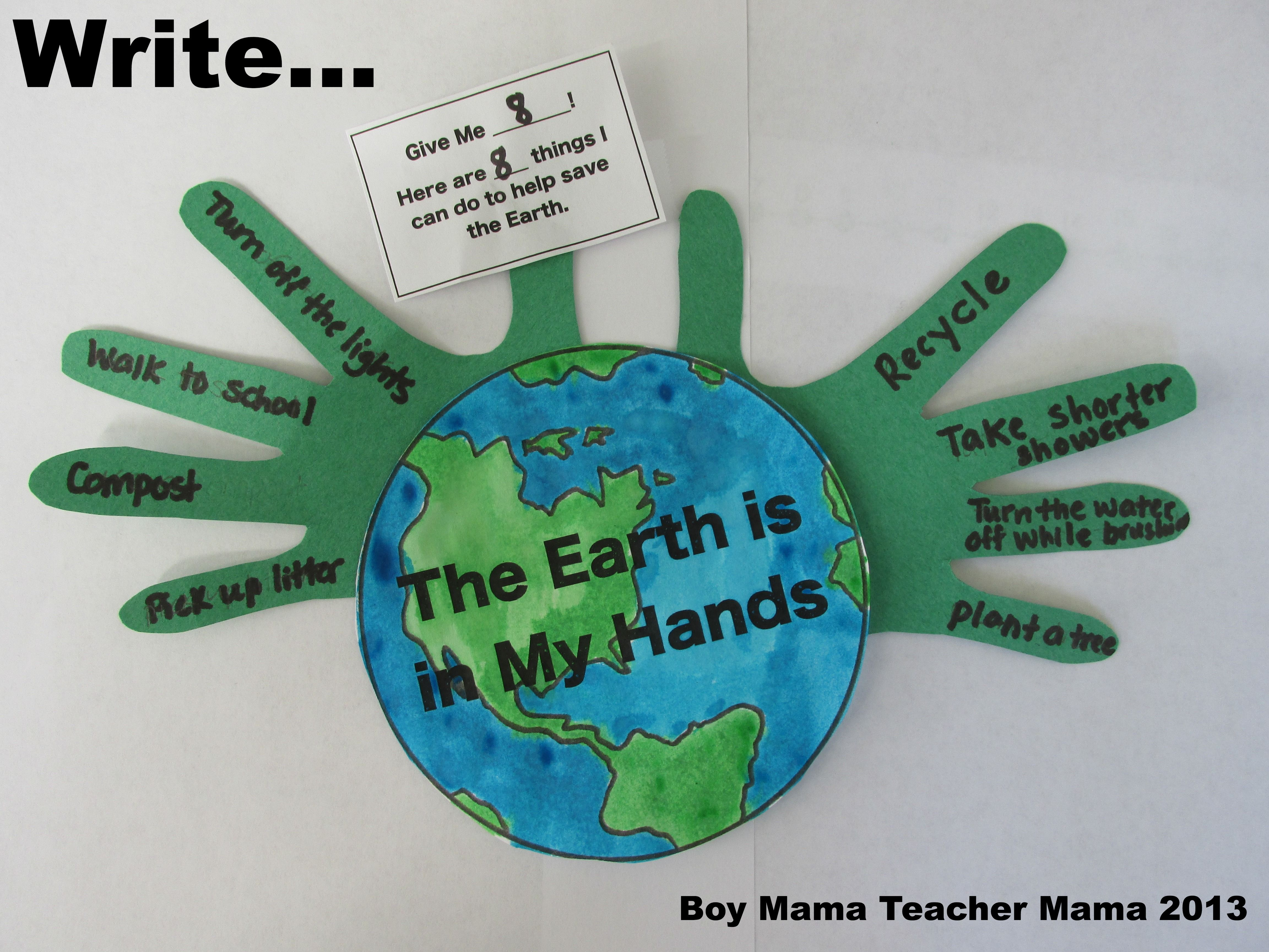 Earth Crafts For Preschool