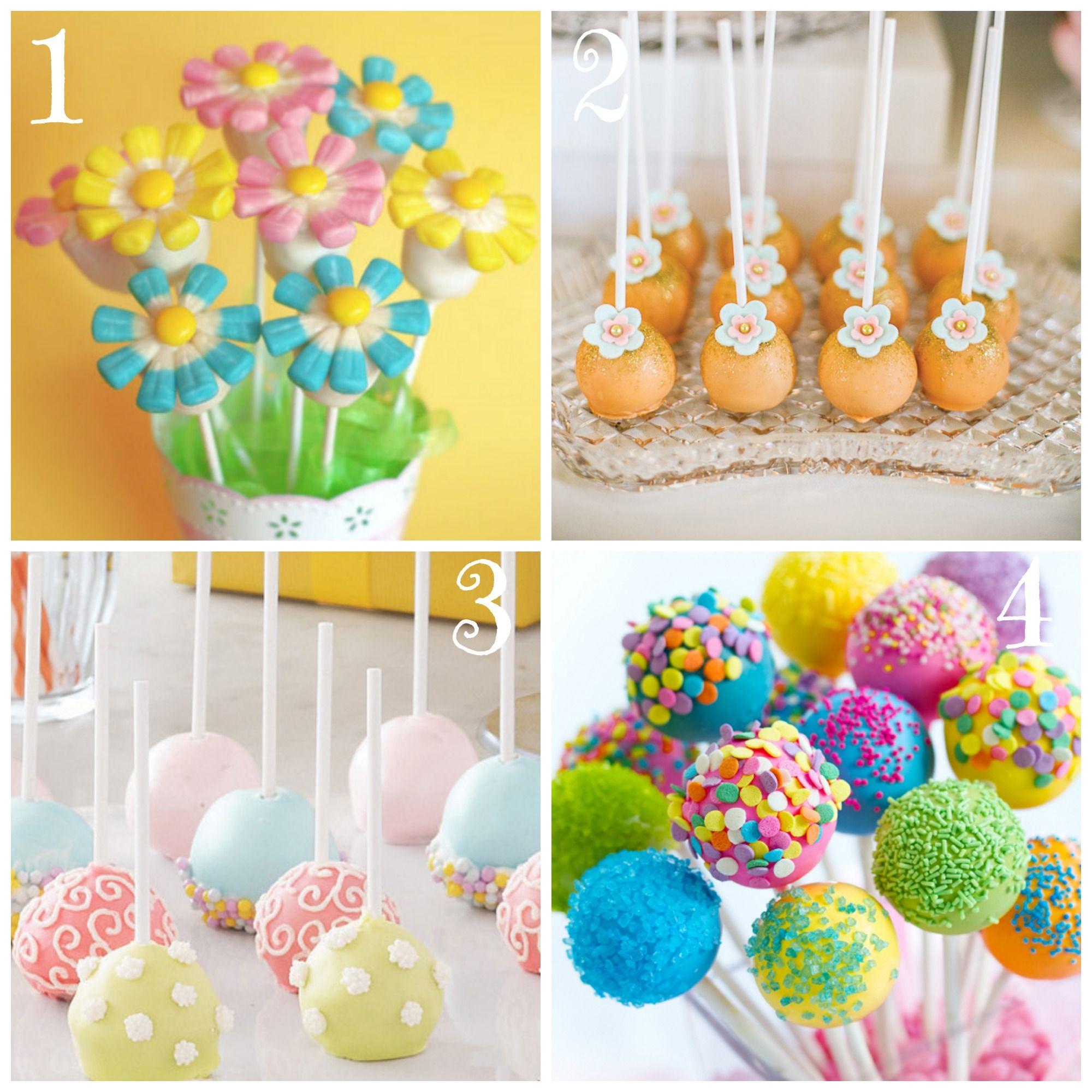 Top 8 Festive Spring Cake Pops