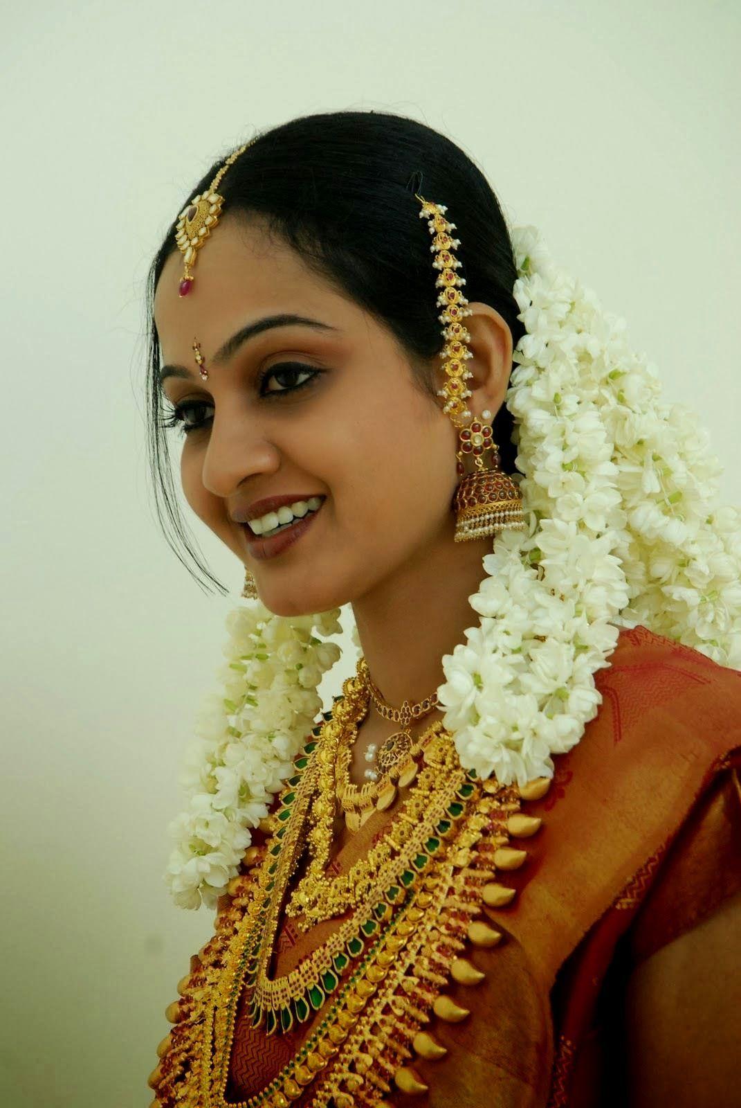 Hindu Wedding Hairstyles Kerala Hindu Bridal Hairstyles