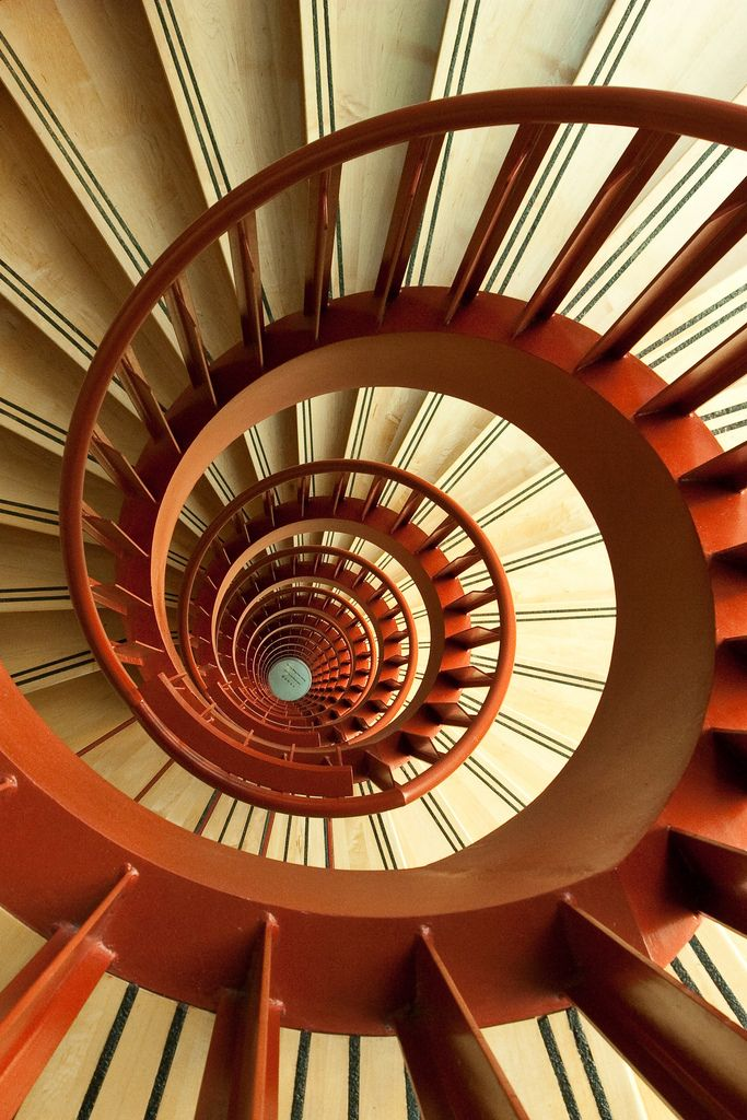 Spiral out..keep going Staircases, DNA and Stairways