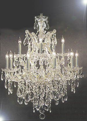 Swarovski Crystal Trimmed Chandelier 30x28 H30 X W28 The Gallery Http