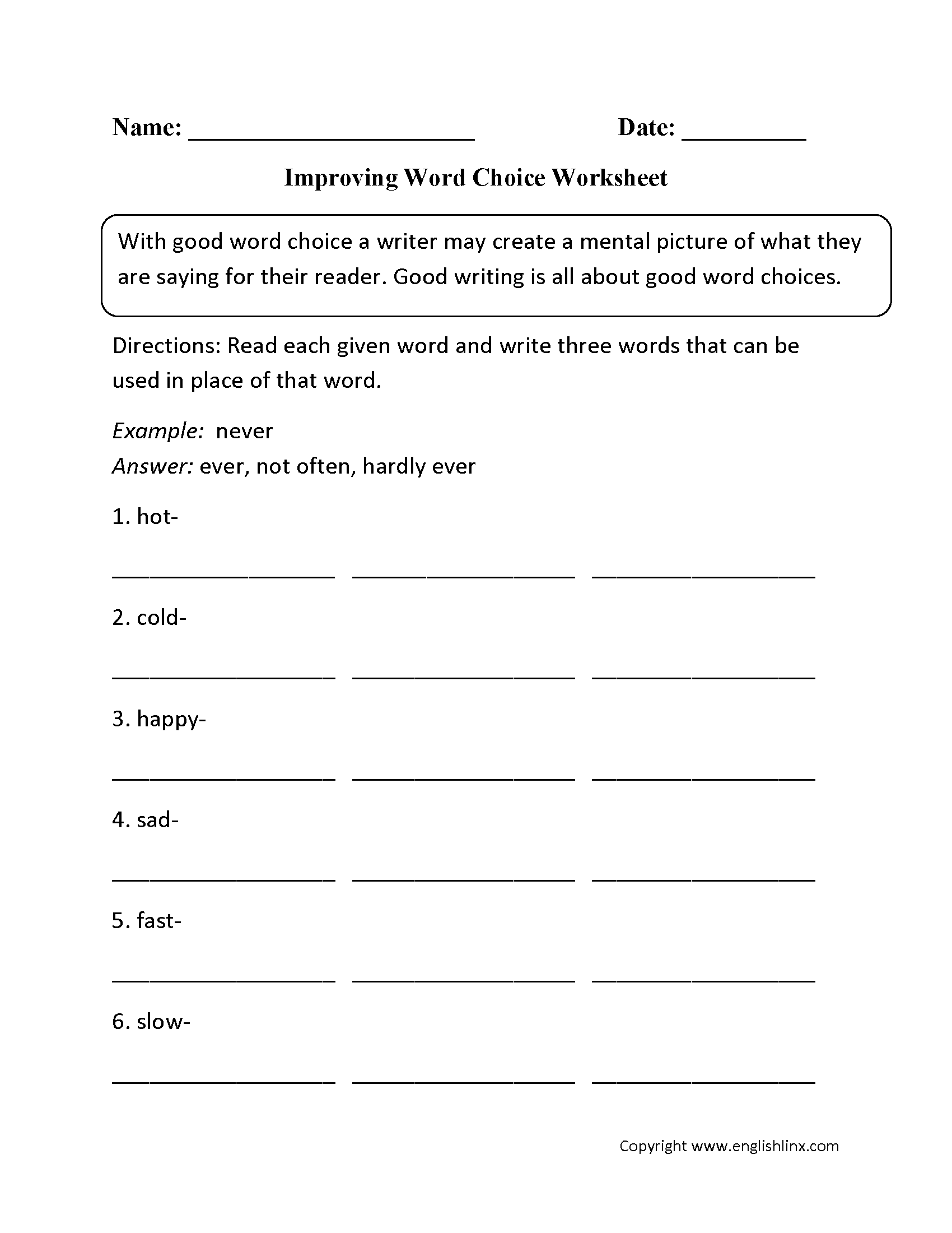 Worksheet Sensory Words Worksheet Worksheet Fun