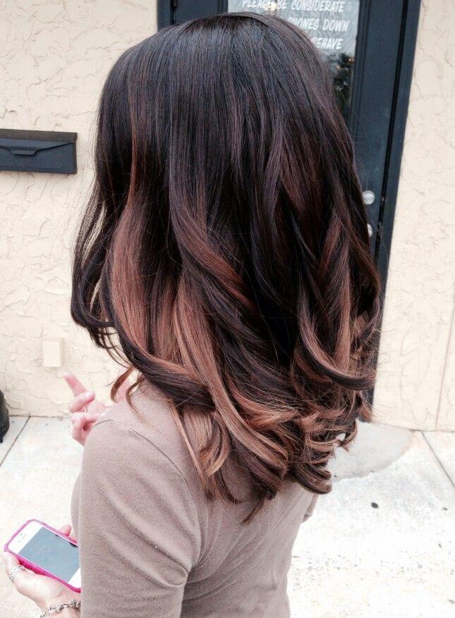 Die Besten 25 Schwarze Haare Blonde Strhnchen Ideen Auf