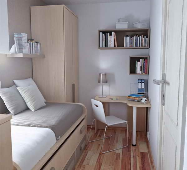 Awesome Very Small Bedroom Ideas And Images Of Decorating For