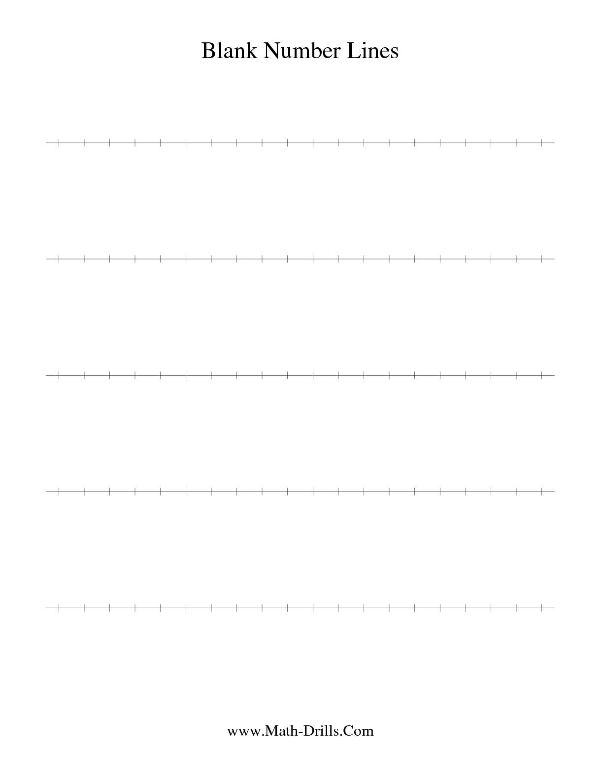 Worksheet Free Number Line Worksheets Grass Fedjp Worksheet Study Site