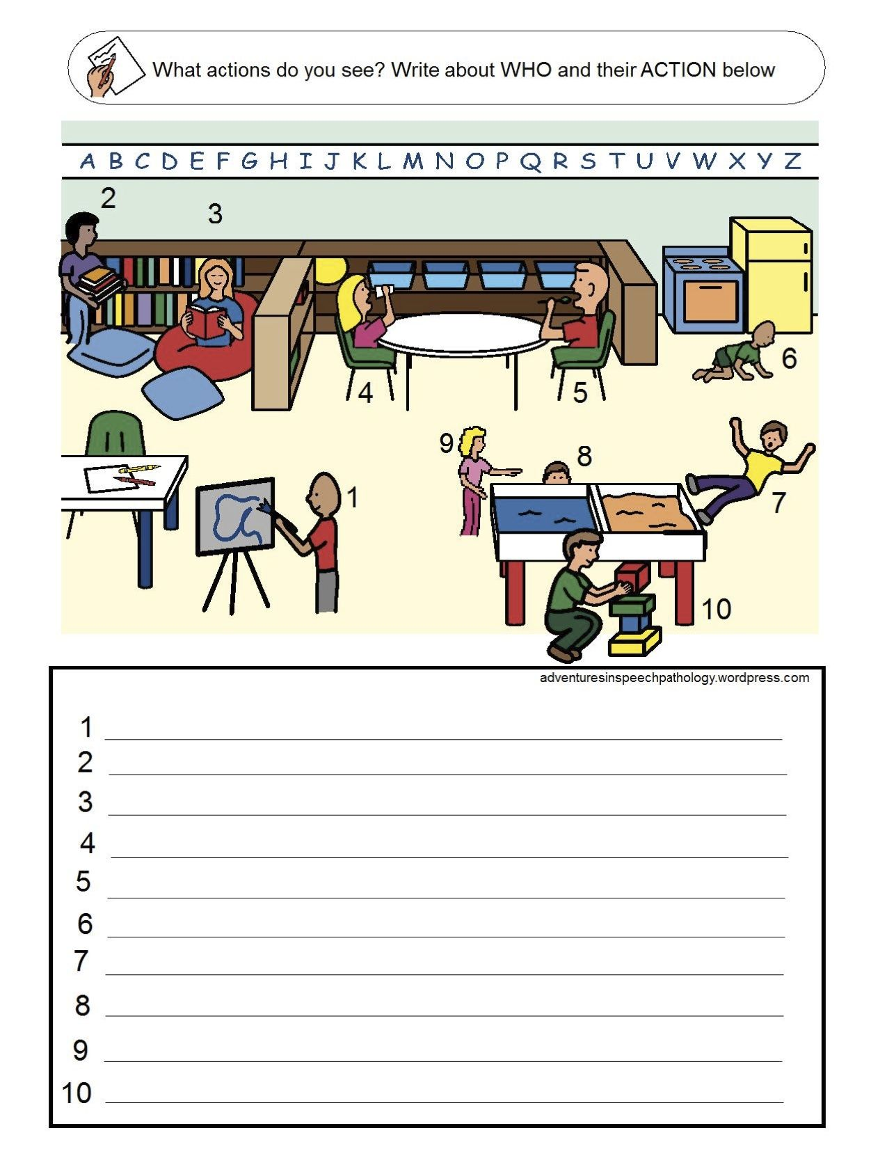 Subject Verb Worksheets Great For Practicing Subject