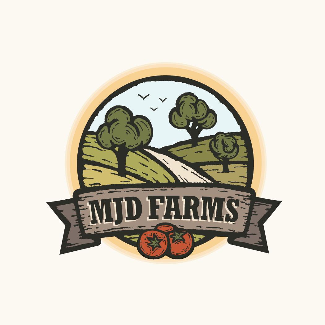 farm logo MJD Farms Brands of the World™ 1