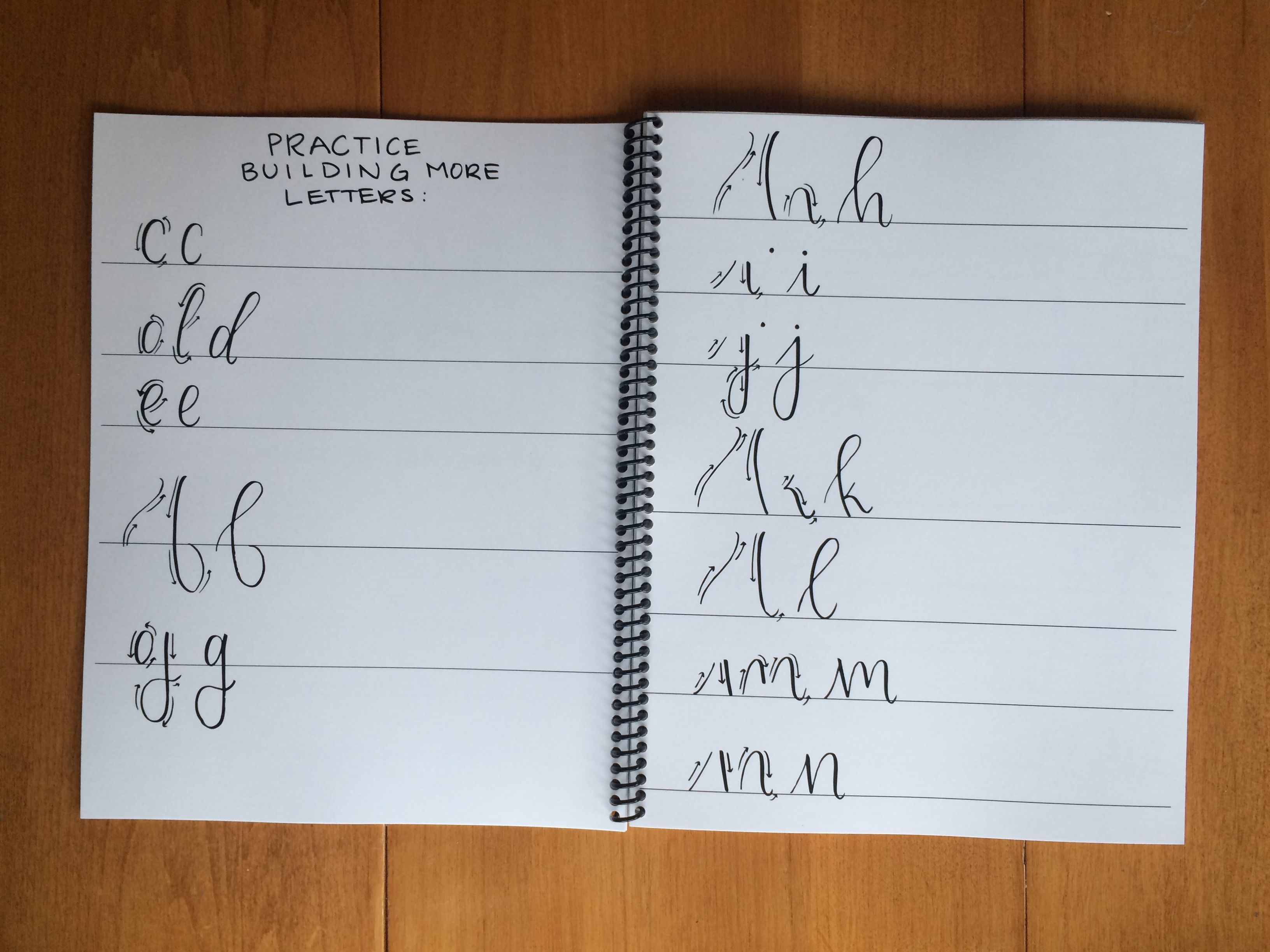 Alphabet Practice Sheets How To Build Letters
