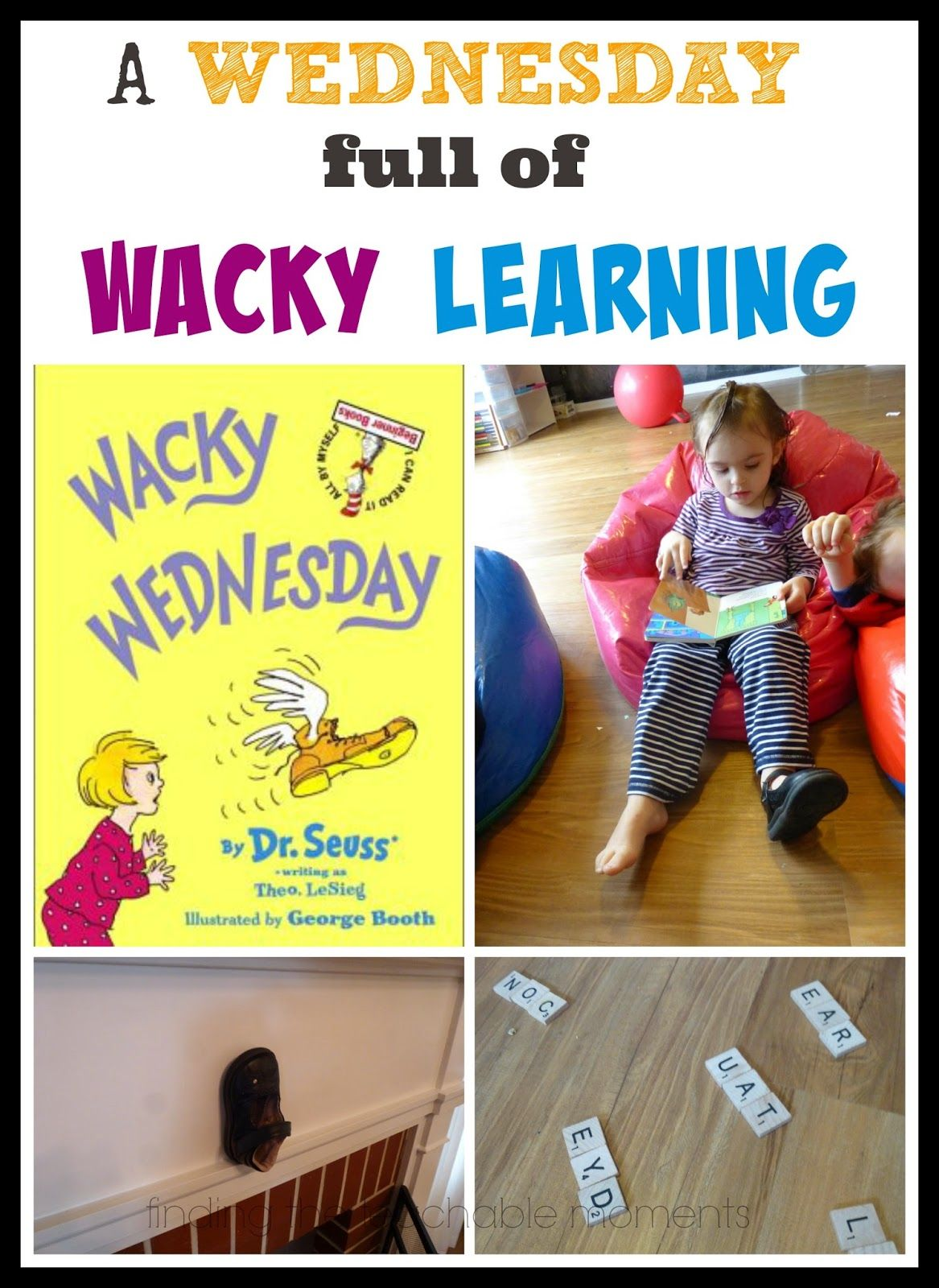 Dr Seuss Week Five Books Lots Of Activities For Each