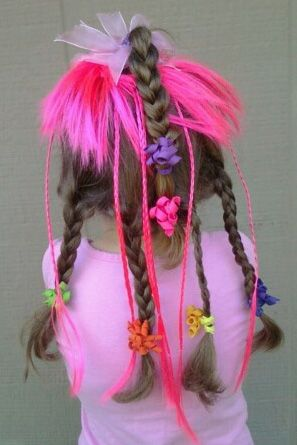 Crazy Hair Day Ideas For Girls A1 Mom