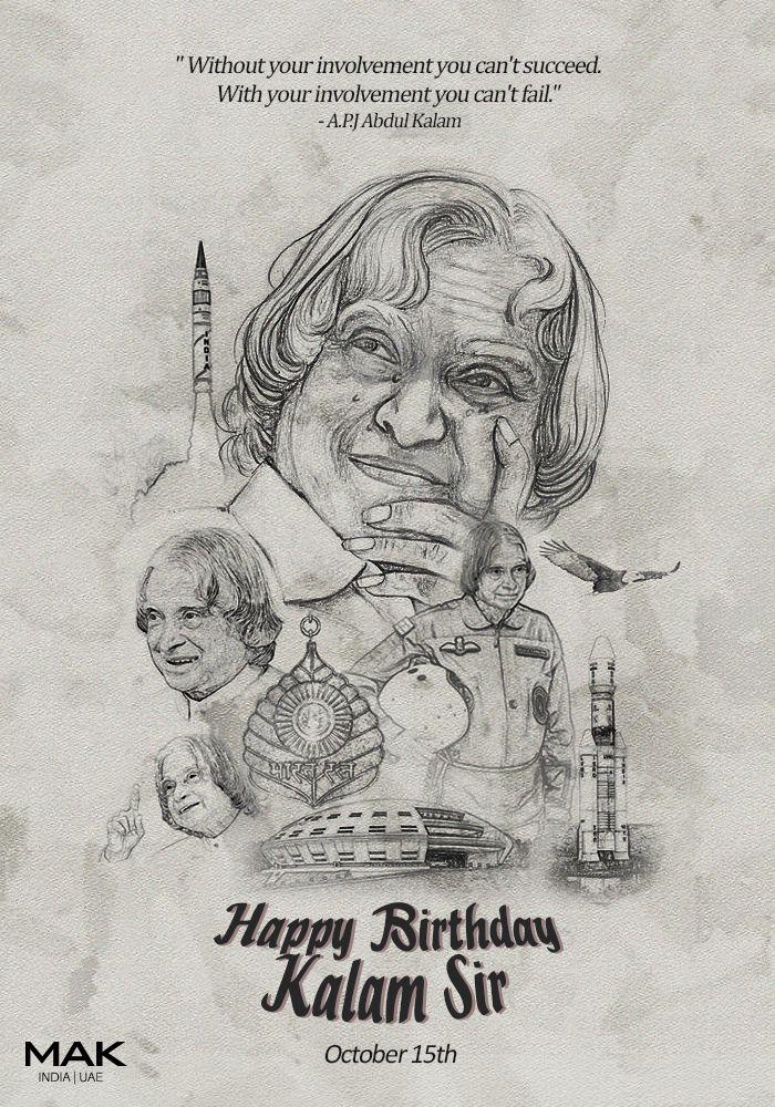 Happy Birthday APJ Abdul Kalam Sir Oct 15, 2015