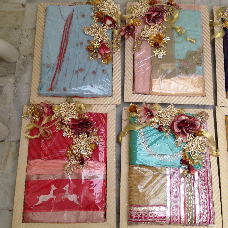 Sareepackingindian wedding Treasured Wrapping