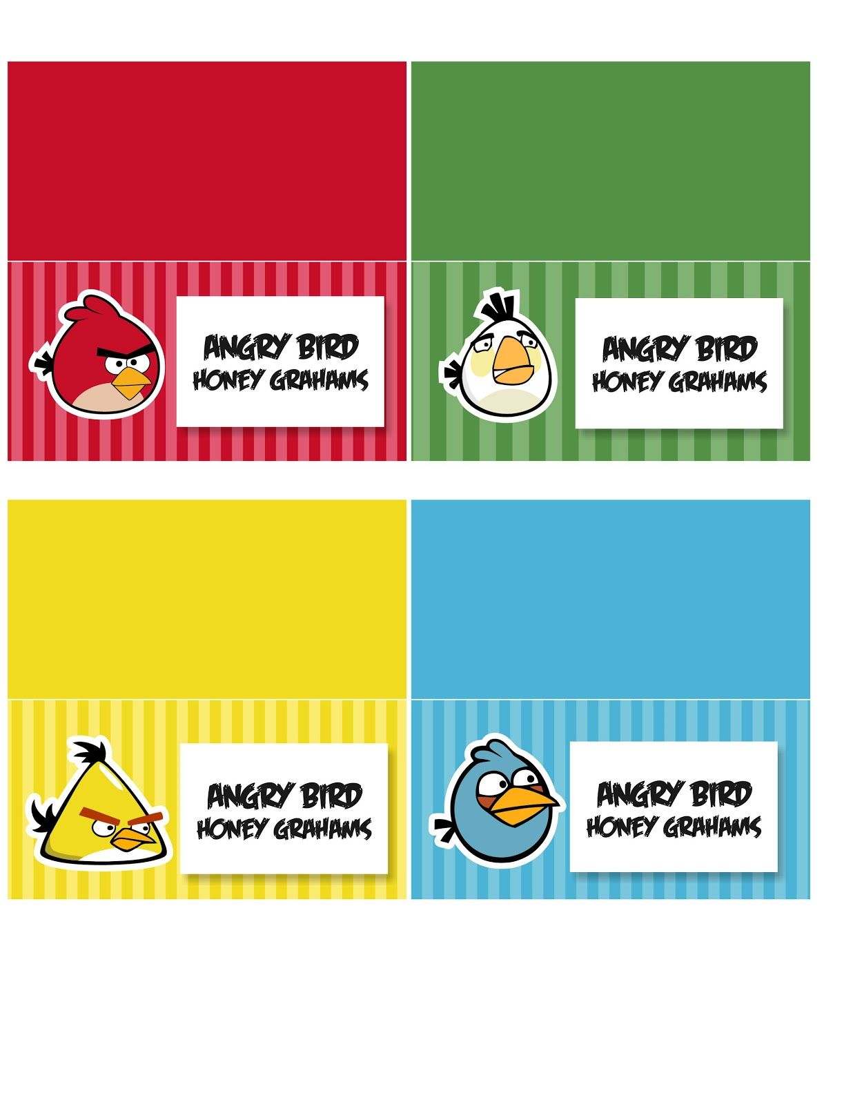 Craft Interrupted Angry Birds Party Favors Red Bird Treat Bags Amp Printables