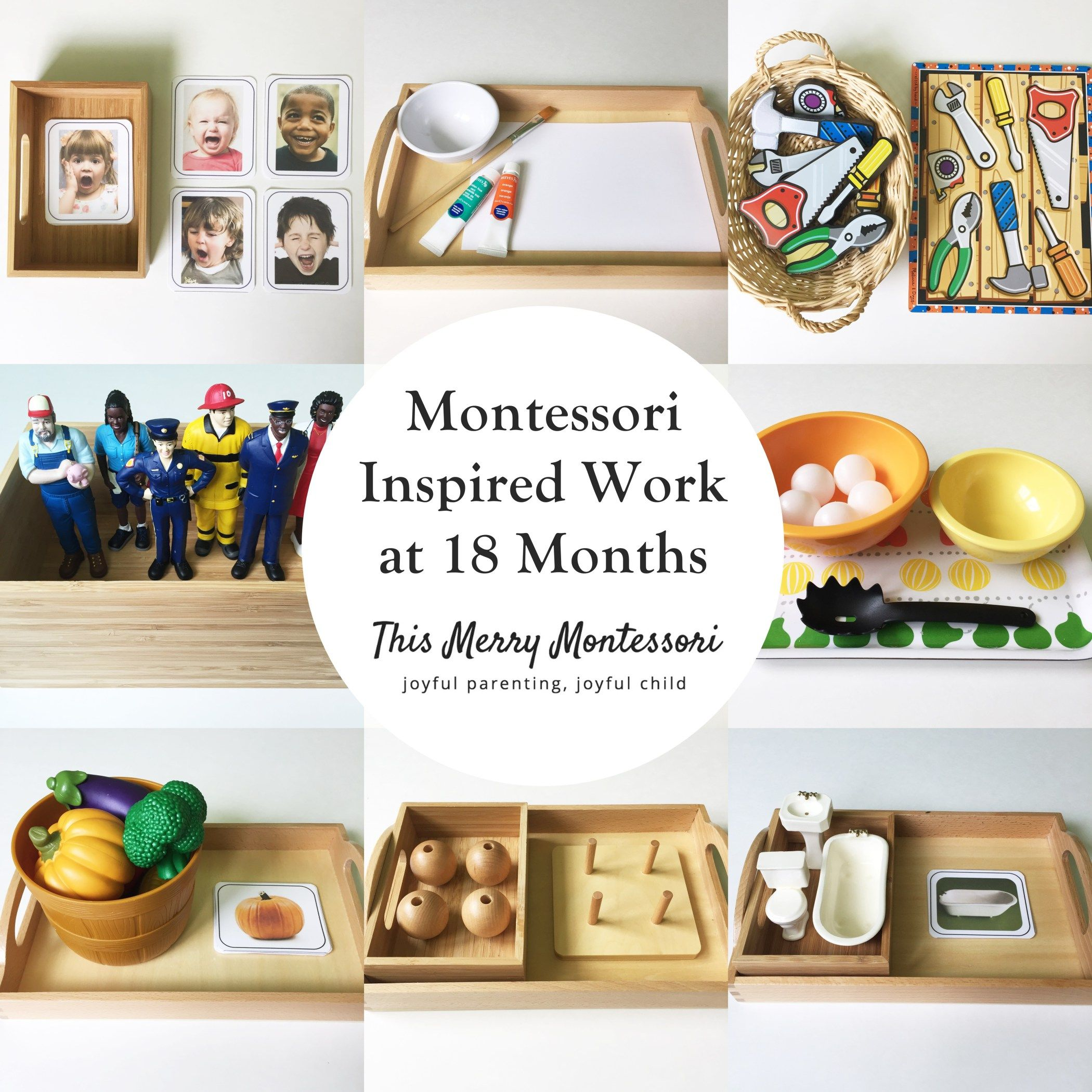 Montessori Inspired Work At 18 Months Tmm Tile