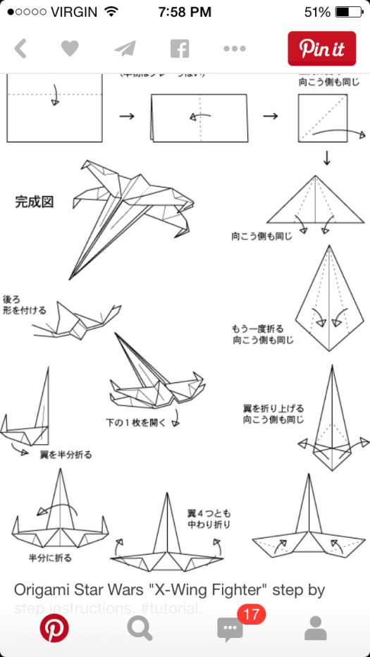 Dollar Origami X Wing Instructions Origami Tutorial Lets Make It