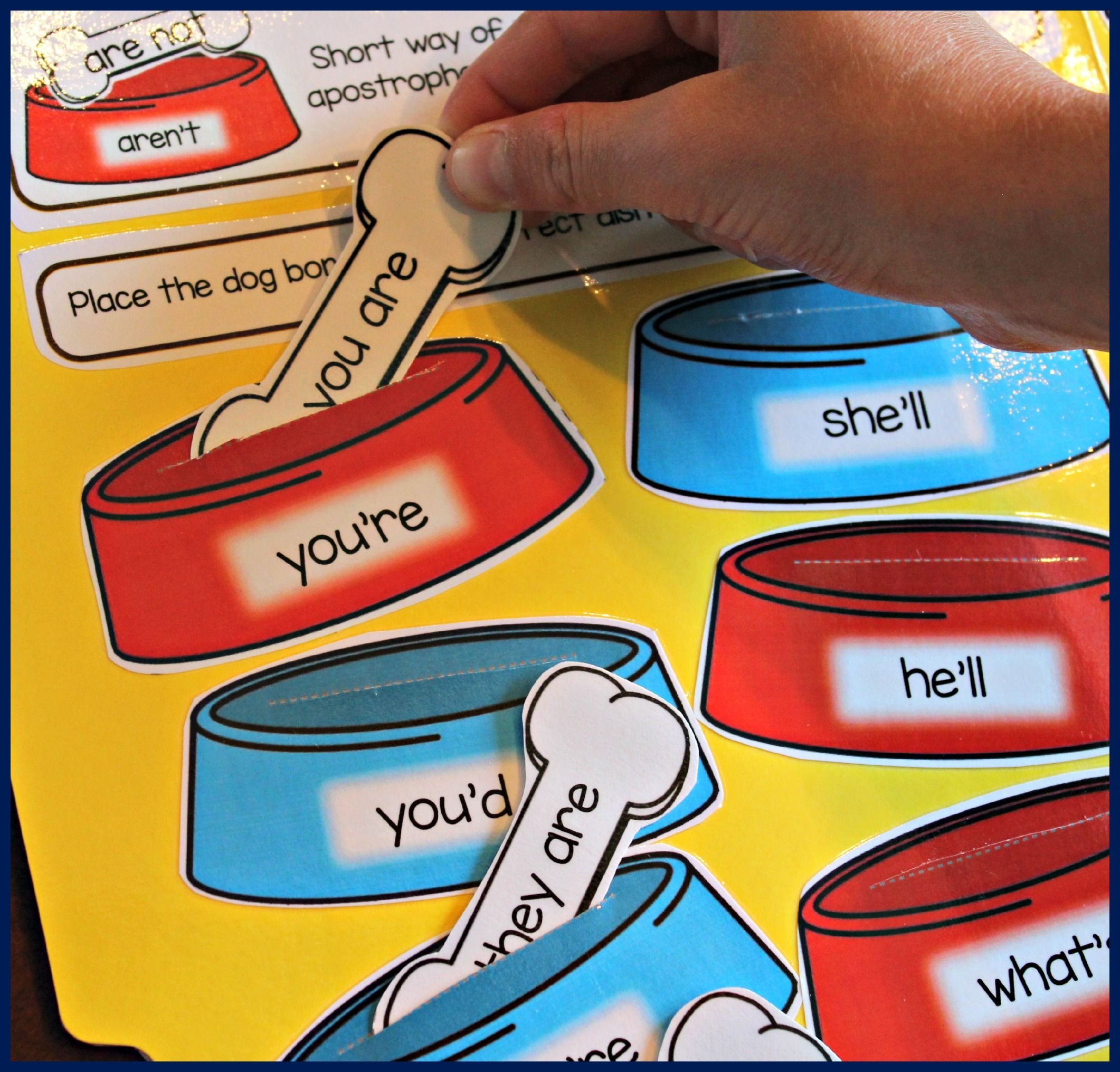 File Folder Phonics Activities For Teaching Contractions