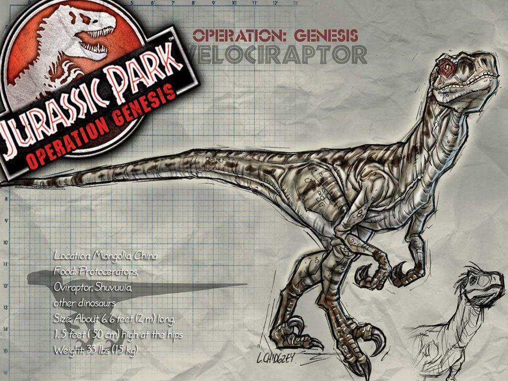Jurassic Park Operation Genesis Dinosaurs