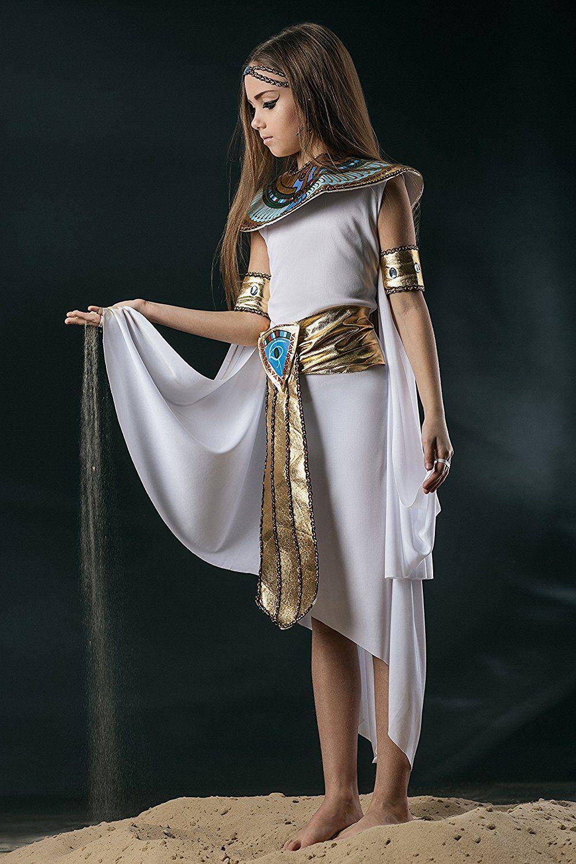 Kids Girls Cleopatra Halloween Costume