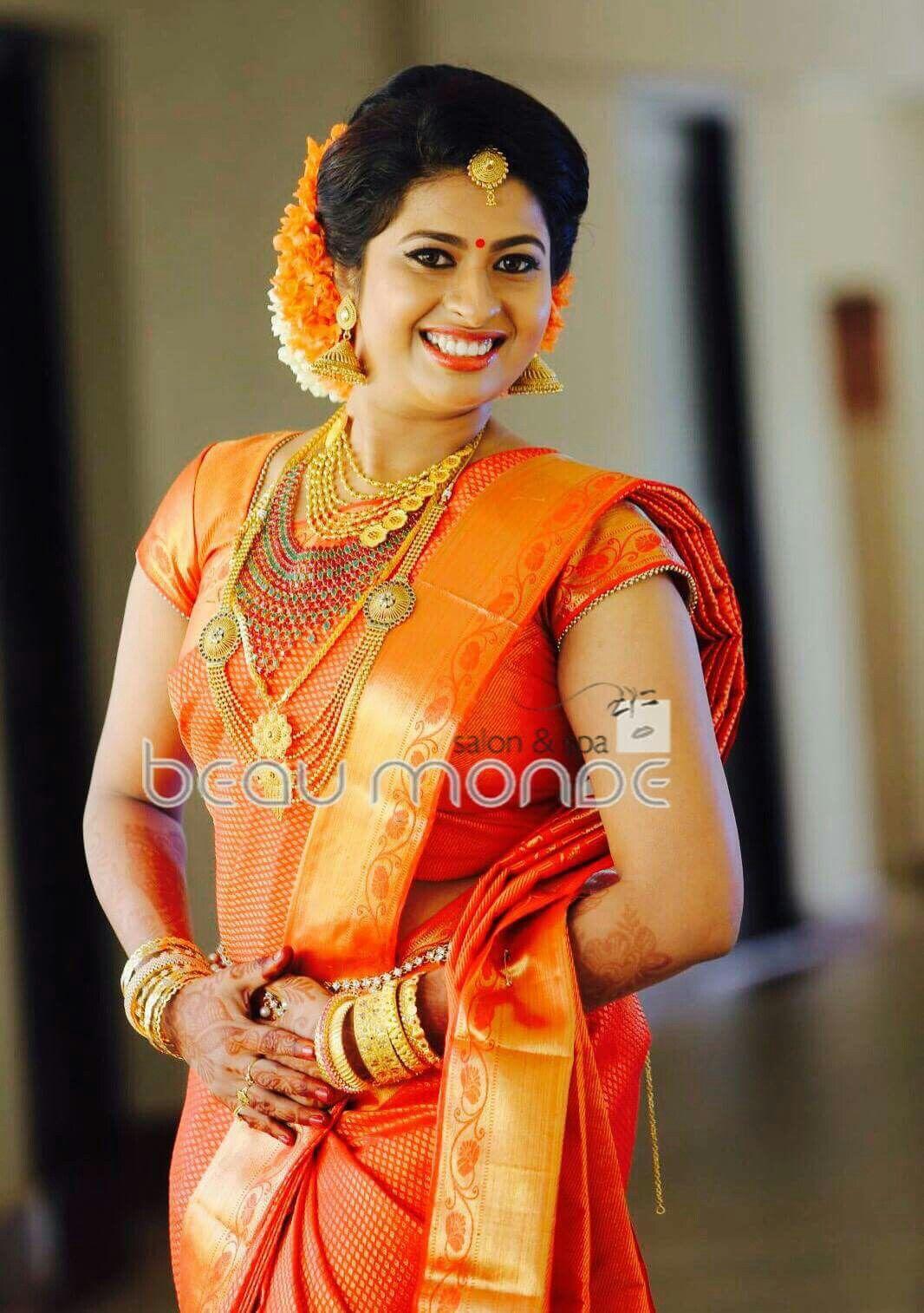 Pin by Alphonsa Thomas on Kerala bride Pinterest Saree