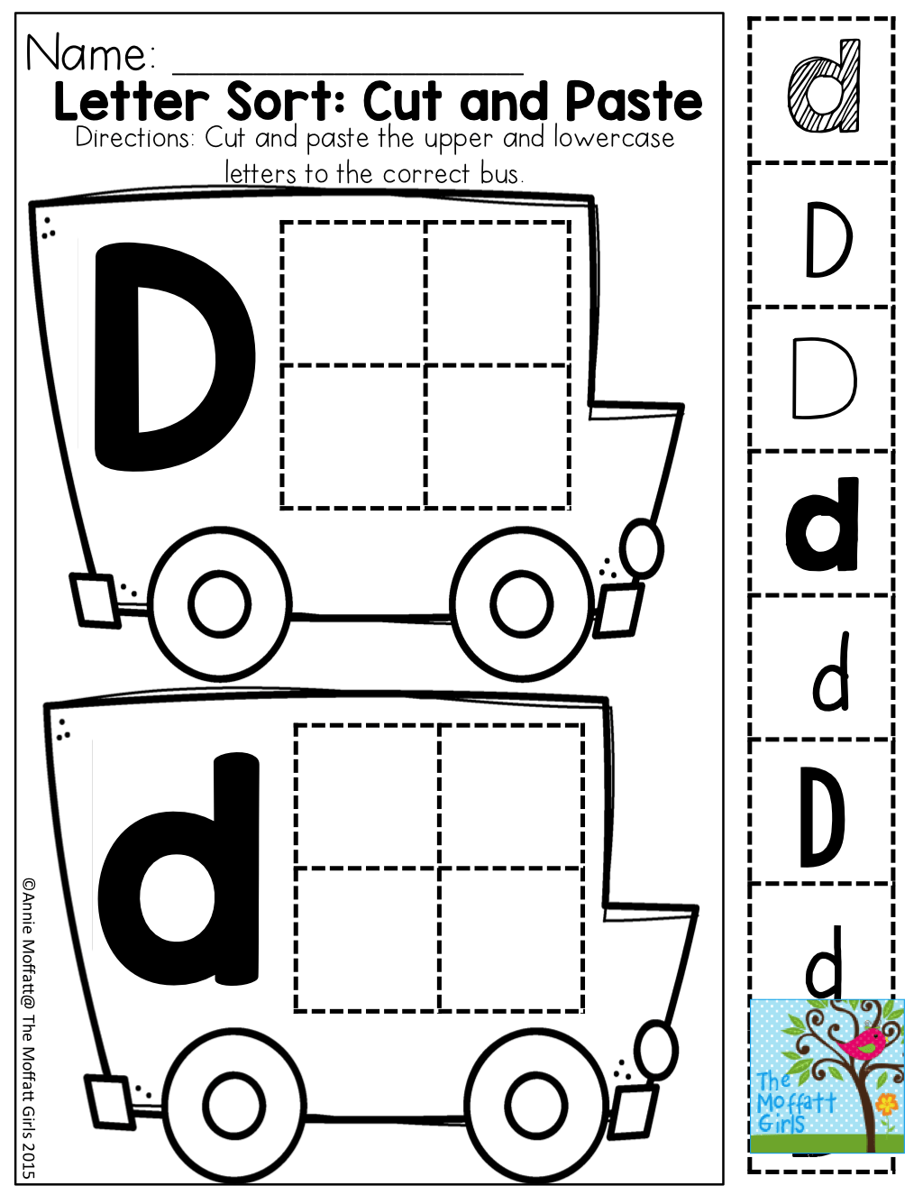 Letter Sort And Tons Of Other Great Printable Great For