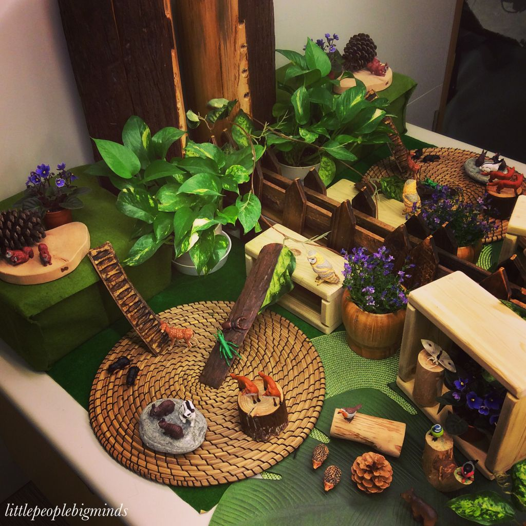 Forest Animals Small World Play Imaginative play