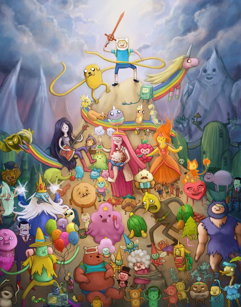 Adventure Time one of the best shows in the world oh my