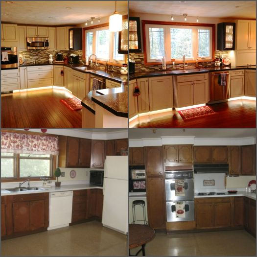 Mobile Home Kitchen Remodel As Well Remodeling