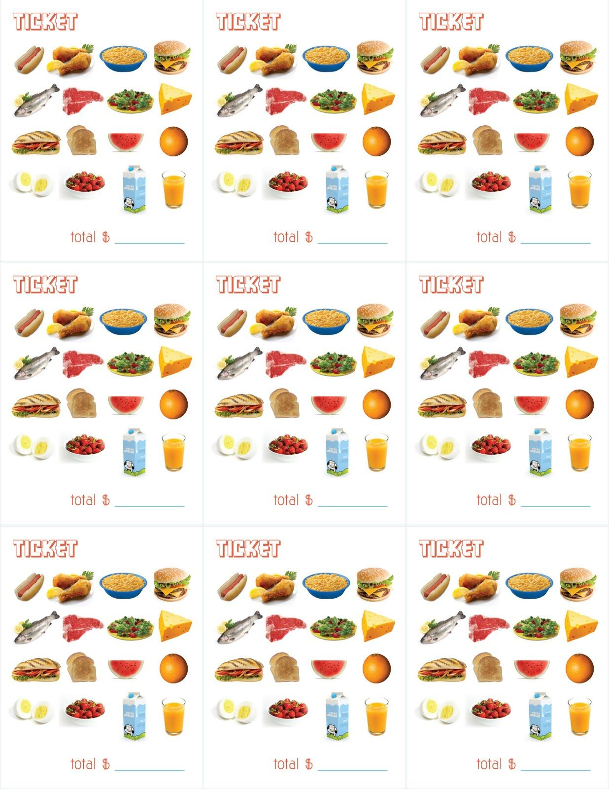 Delightful Distractions Printable Menus For Playing Restaurant