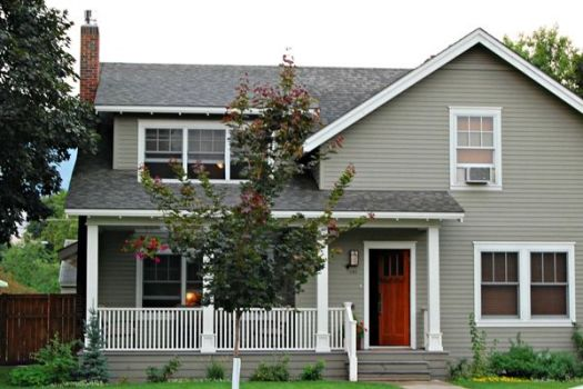 Main Exterior Copley Gray By Benjamin Moore Trim Seapearl