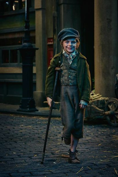 Image result for charles dickens tiny tim