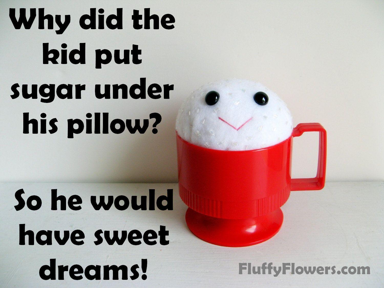 cute & clean kids joke for children featuring a handmade