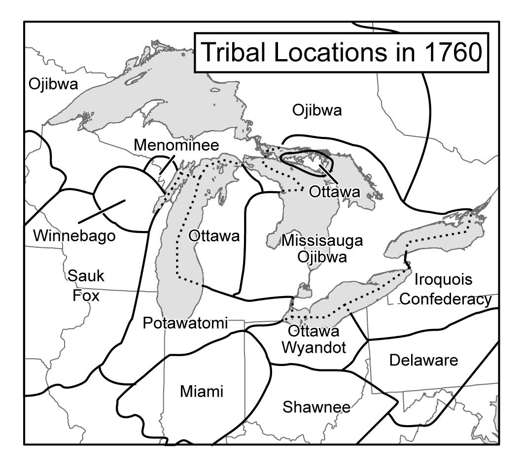 Indians In The Great Lakes Region