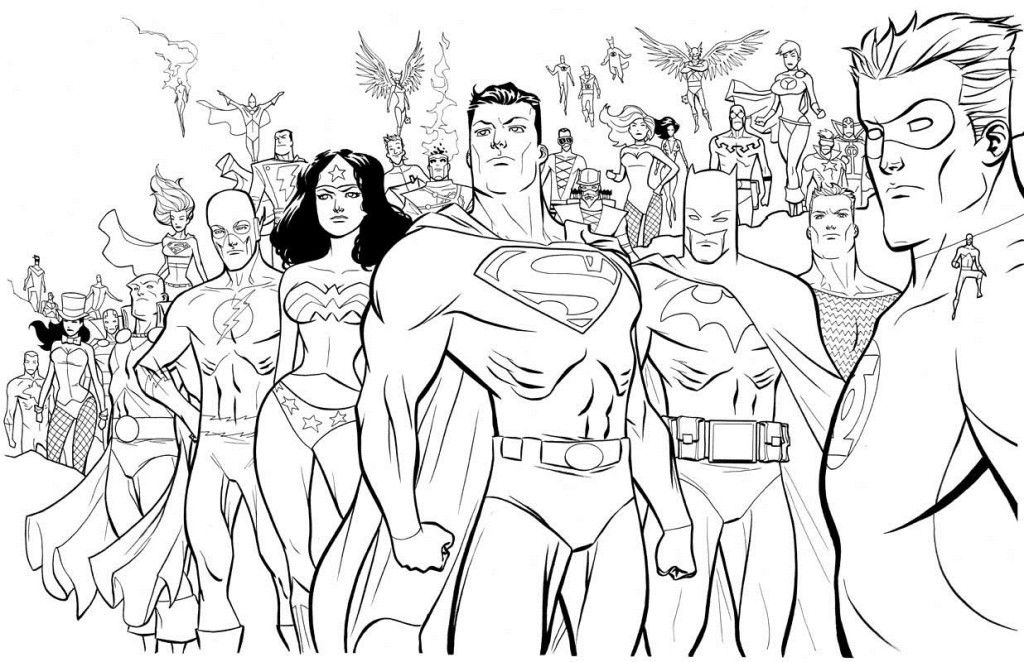 1000 images about colouring dc comics on pinterest adult