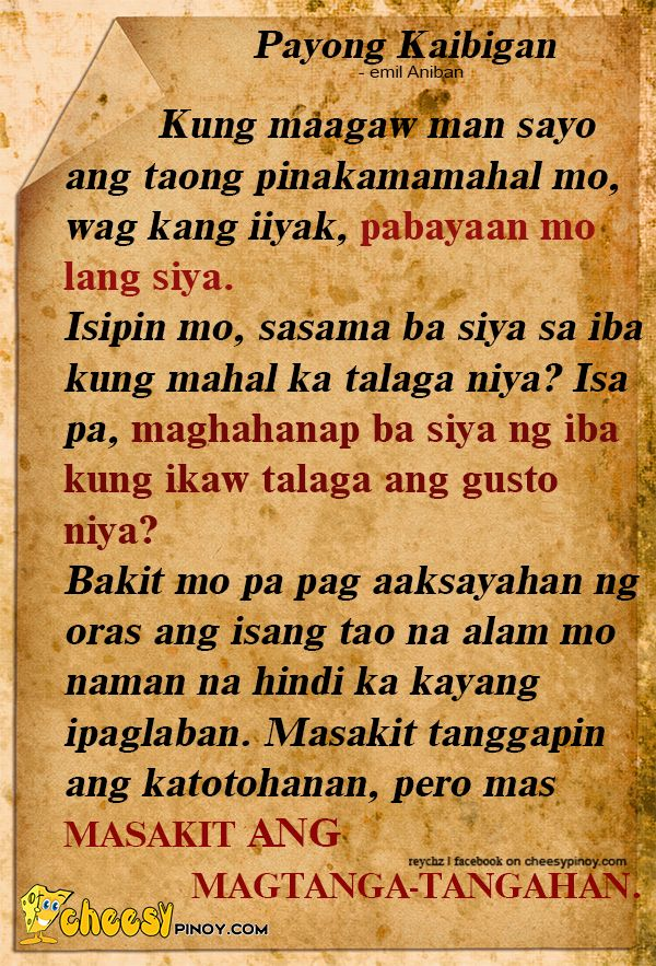 » We have a collection of Tagalog