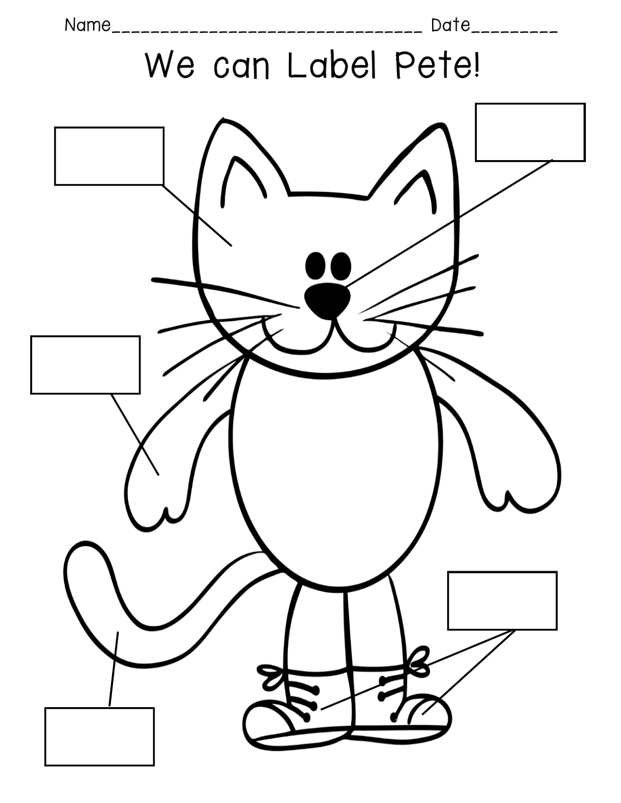 Pride And Primary Pete The Cat Rocking In My School Shoes Prediction Lesson Plans And First
