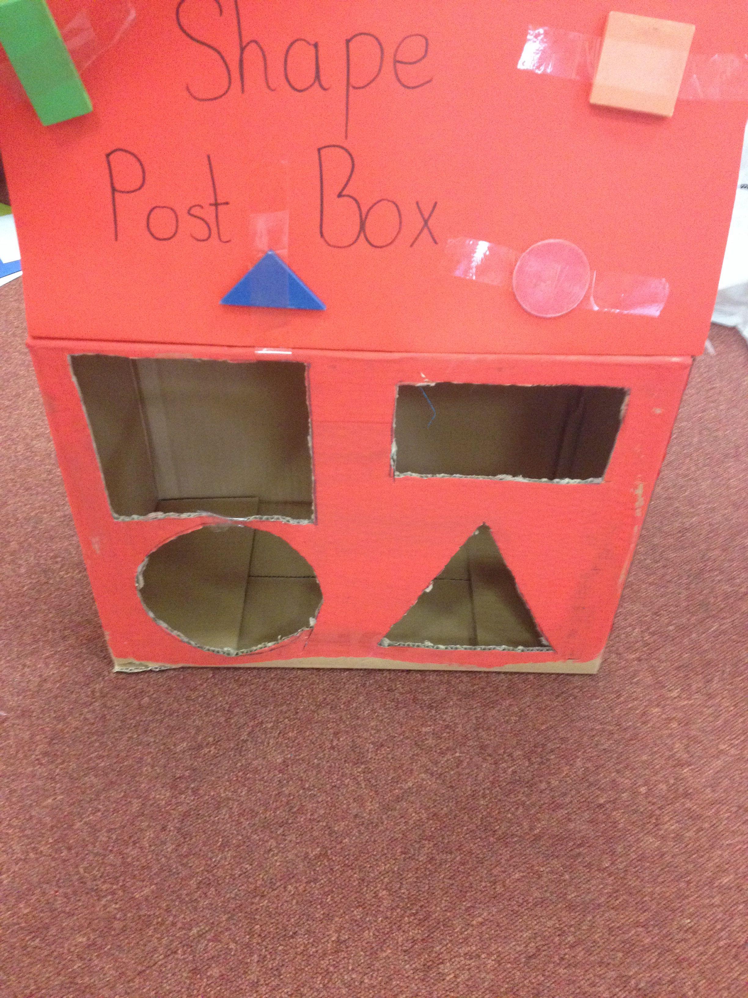Shape Post Box