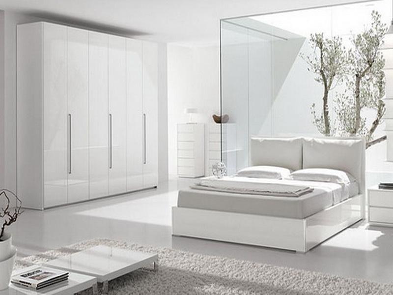 white modern bedroom design. | white bedroom | pinterest