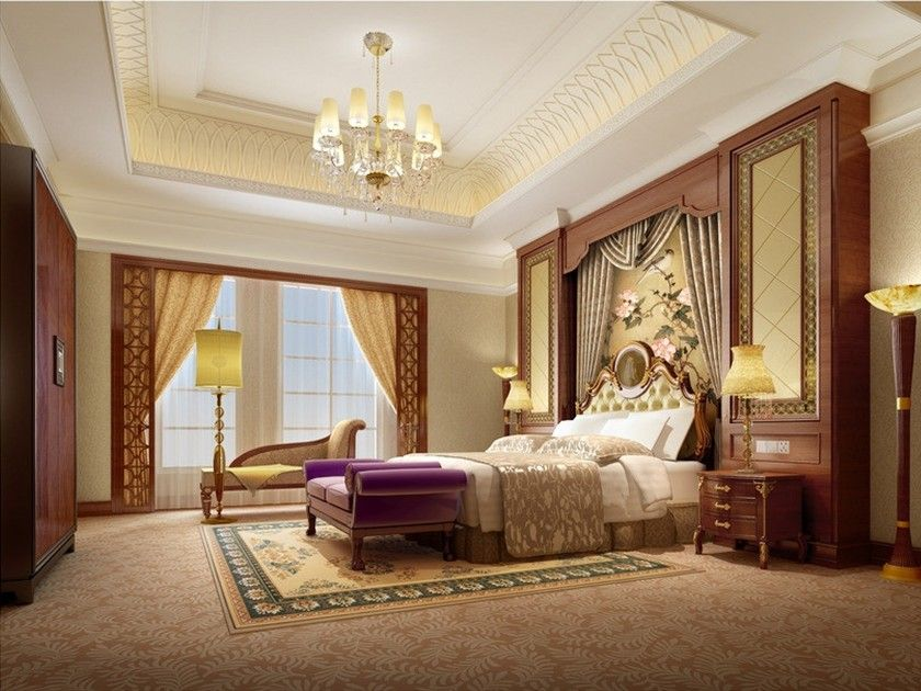 European Style Luxury Interior Home Bedroom Tips Interior