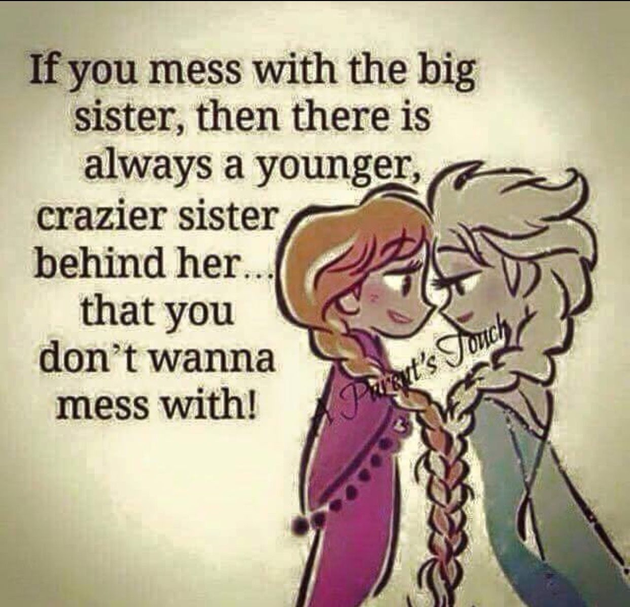 I am that sister! sister love Pinterest Poem