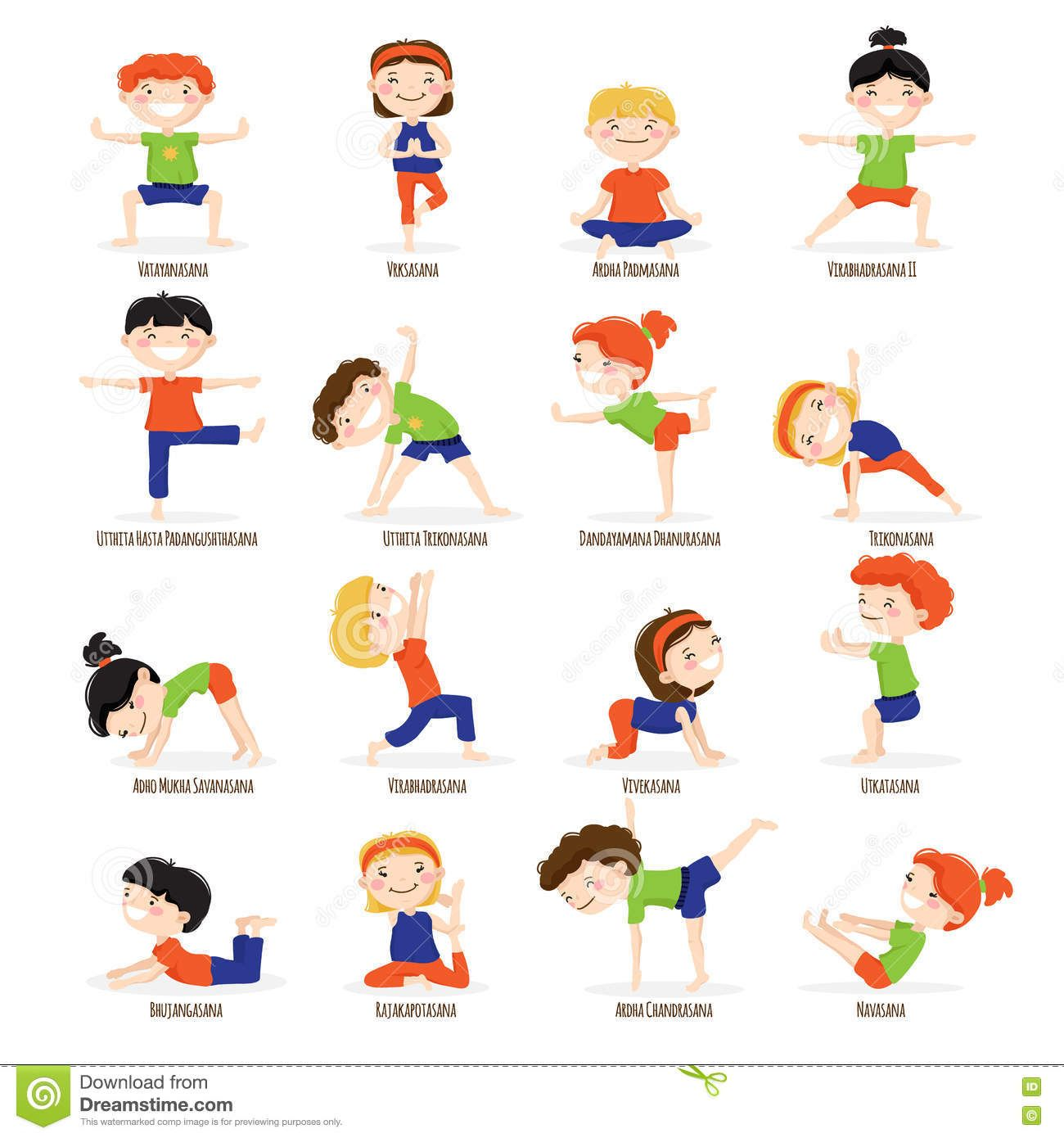 Yoga Activity Worksheet