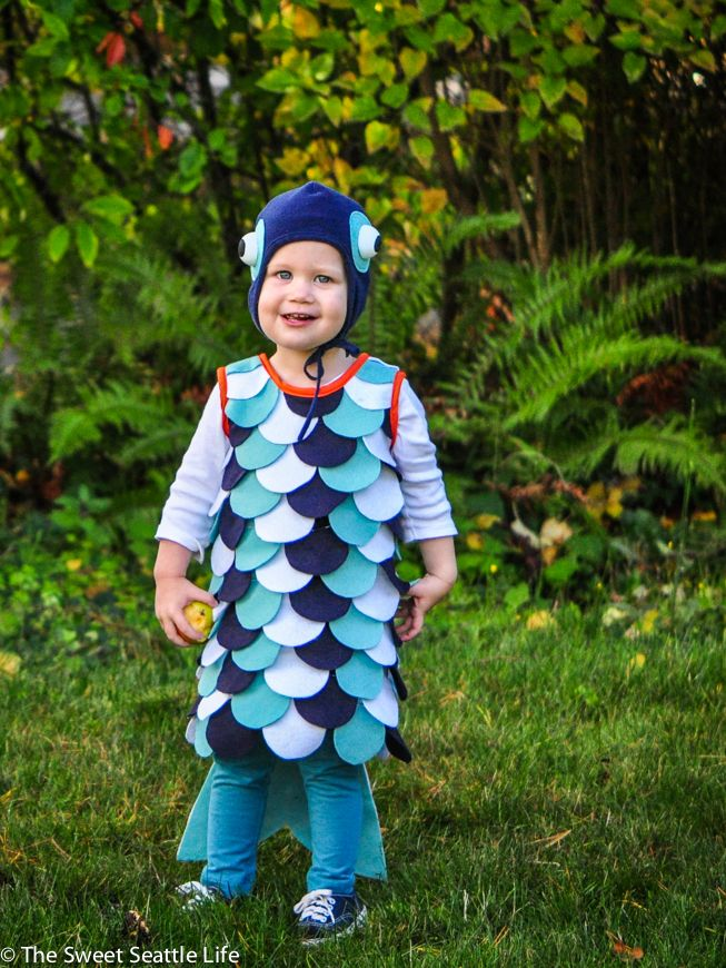 DIY fish costume tutorial for kids I Made That