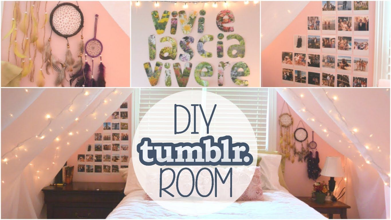 3 Diy Tumblr Inspired Room Decor Ideas