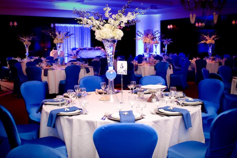 Royal Blue Wedding Caprice Design