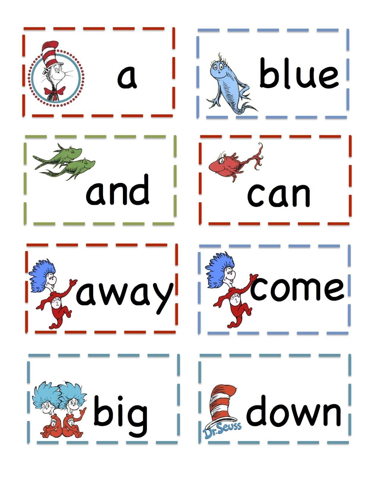 Preschool Printables That Cat Pre Primer Sight