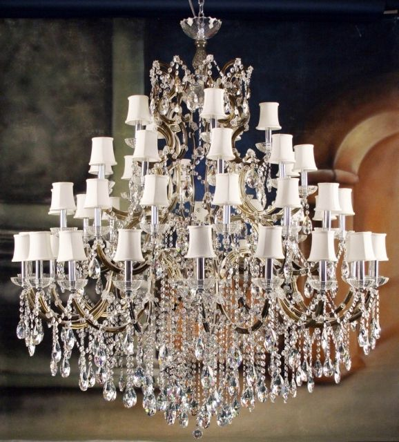 Awesome Crystal Chandeliers Swarovski Victoria Homes Design For