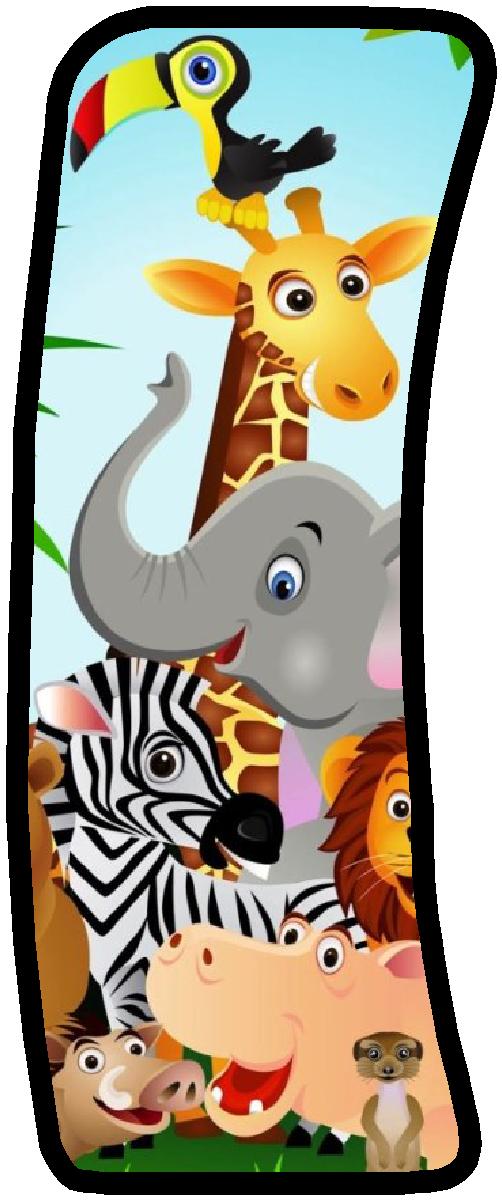 Letra i letra a Pinterest Jungle party, Fancy