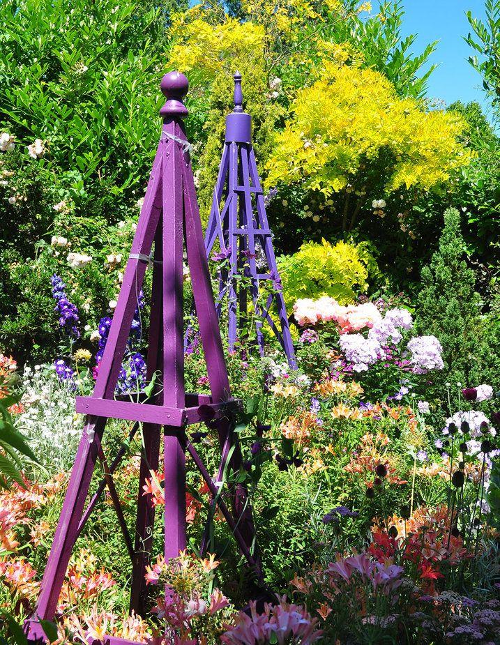 How to Sharpen & Clean Garden Tools Obelisks, Trellis
