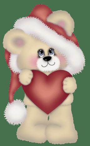 Transparent Christmas Cute Bear Clipart Imágenes navidad