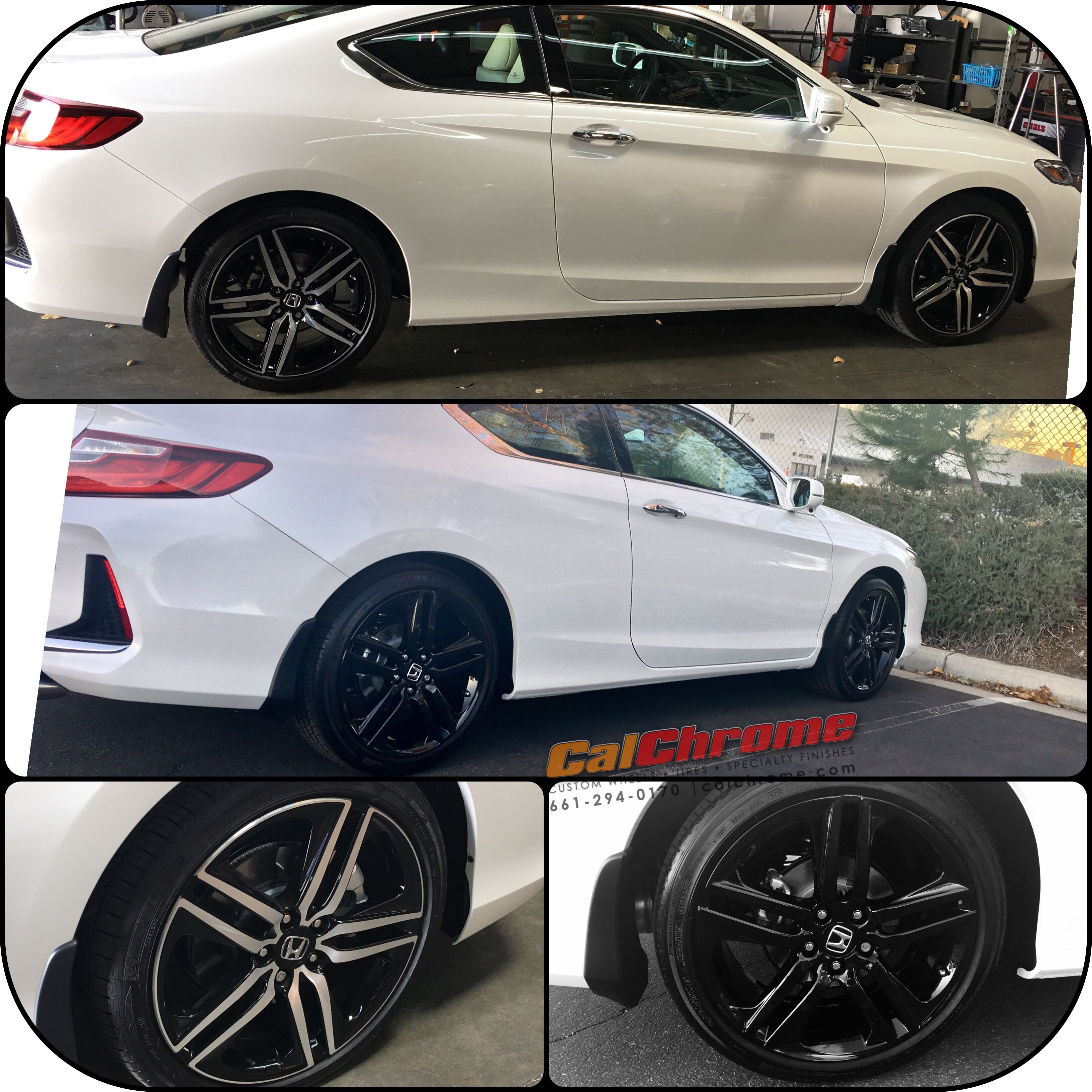 "2017 Honda Accord coupe touring with 19"" ultimate wet"